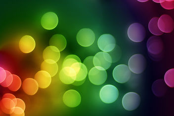 rainbow bokeh - Free image #313473