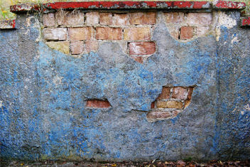 blue wall - Free image #313593