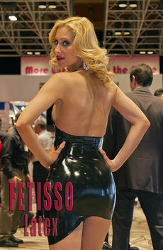 Fetisso Latex Dress back view 2 - Free image #314873