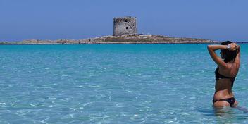 spiaggia la pelosa stintino sardegna by carmen fiano - image #314923 gratis