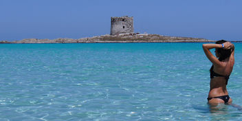 spiaggia la pelosa stintino sardegna by carmen fiano - бесплатный image #314923