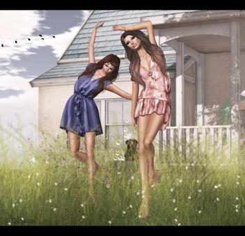A Mid Summer's Night Theme - Lila & Kae -2 - Free image #315653