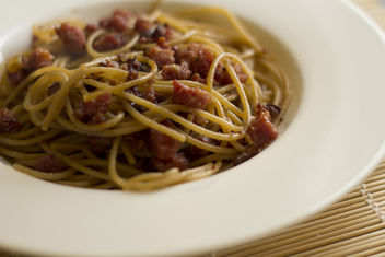 Pasta with finocchiona - Free image #317113