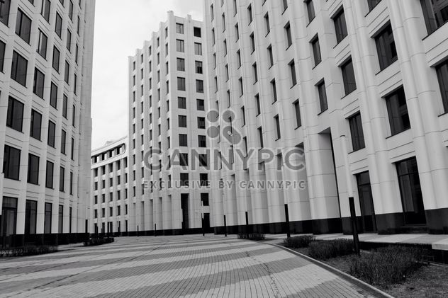 Facades of buildings in Moscow - Free image #317383