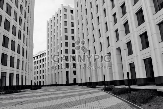 Fassaden der Gebäude in Moskau - Kostenloses image #317383