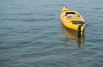Yellow cayak - Free image #317413