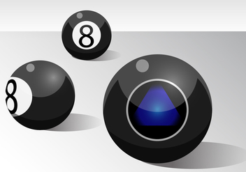 Ball 8 - vector #317683 gratis