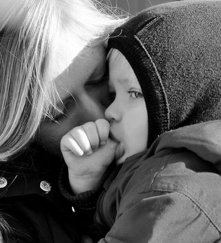mother and son - image #317963 gratis