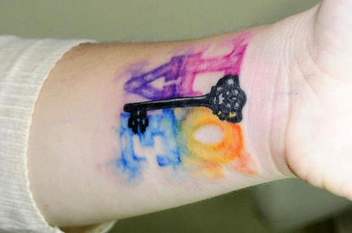 Water Color Tattoo - image #317983 gratis