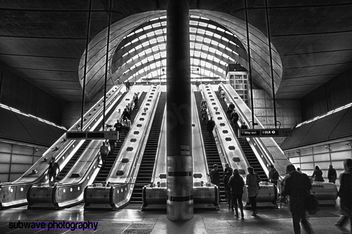 Underground Canary Wharf HDR - Kostenloses image #317993