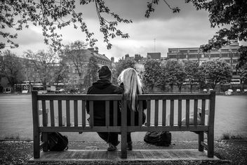 Relaxing in the Trinity College, Dublin - Free image #318663