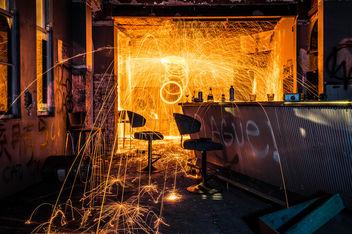 Hotel Bar Fire - image gratuit #319143