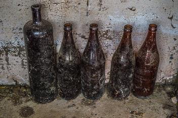 Dirty Bottles - Free image #319933
