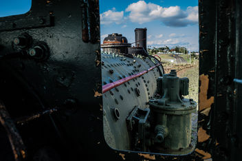 Abandoned Steam Train - Free image #320383