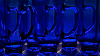 cobalt blue glass - Free image #321573