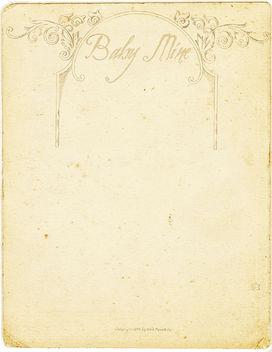 Baby Mine - image #322133 gratis