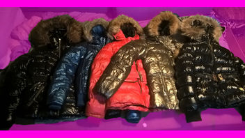 Some Shiny & Puffy jackets that i own - Free image #326173