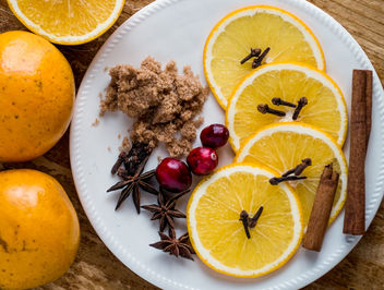 Ingredients for Mulled Wine - image gratuit(e) #326383