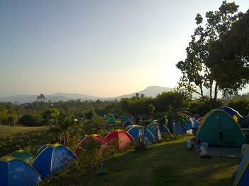 Mountain camping at Wang Nam Keaw - image #326533 gratis