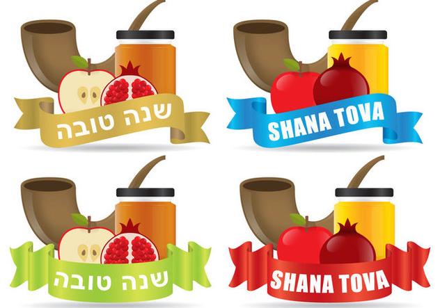 Shana Tova Designs - Free vector #326633