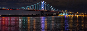 Benjamin Franklin Bridge - Free image #326993