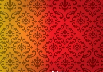Ornamental Wall Tapestry - Free vector #327123