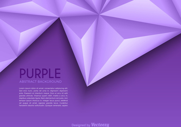 Free Purple Abstract Triangle Vector Background - Kostenloses vector #327433