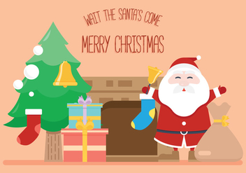 Santa's Coming! - vector #327483 gratis