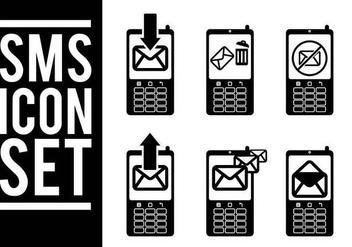 Sms Icon Vectors - Free vector #327703