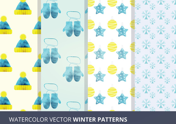 Vector Seamless Patterns - Free vector #327903