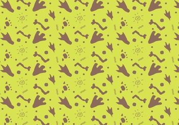 Free Dinosaur Pattern #9 - Free vector #327973
