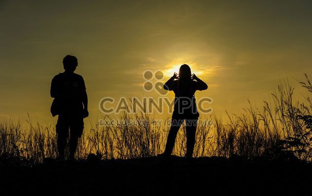 silhouettes des amis - Free image #328163