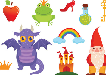 Free Fairy Tale Vectors - Free vector #328903