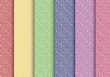 Colorful Swirl Pattern Vectors - Free vector #328913