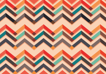 Chevron pattern vector colorful - Free vector #328923