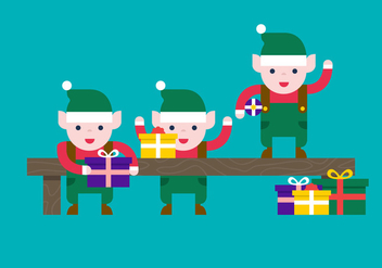 Santas Workshop Vector - vector gratuit #330503