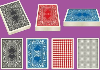 Card Deck Vectors - Free vector #330583