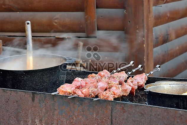 Barbecue outdoors - Free image #330673