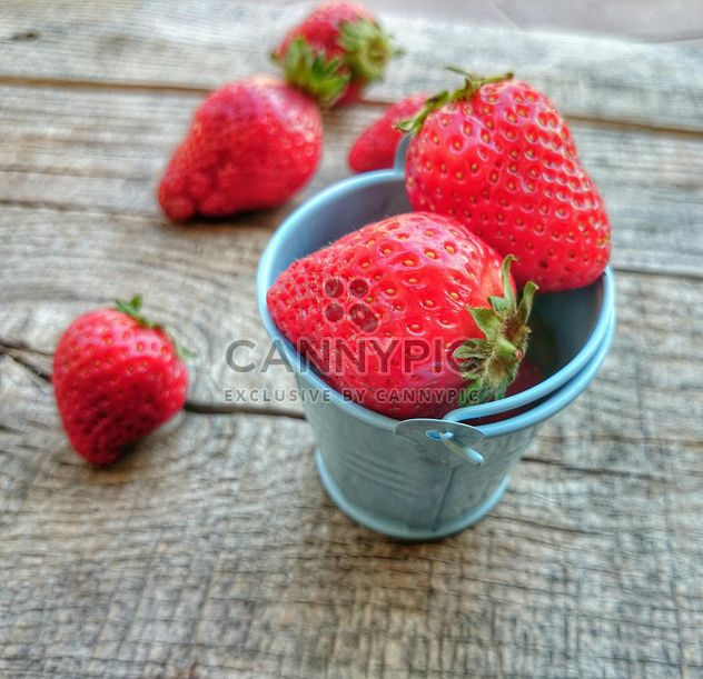 Strawberries in a bowl - Free image #330693