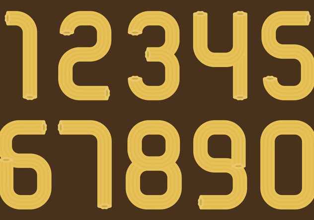 Churros Numbers - Free vector #330773