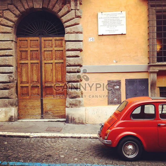 Viejo coche Fiat 500 - image #331083 gratis