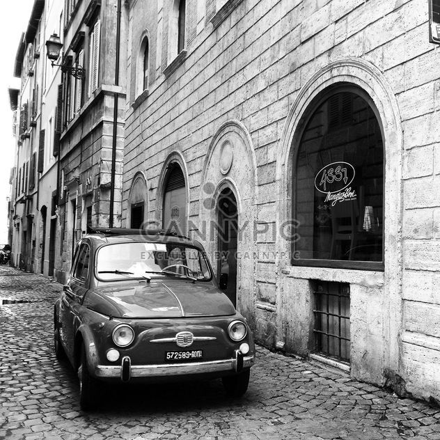 Old Fiat 500 car - Free image #331093