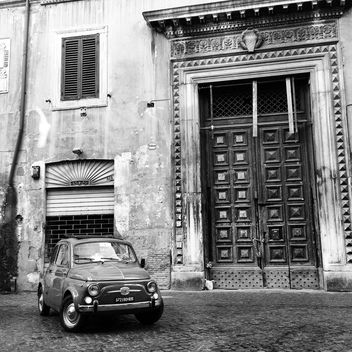 Old Fiat 500 car - image #331103 gratis