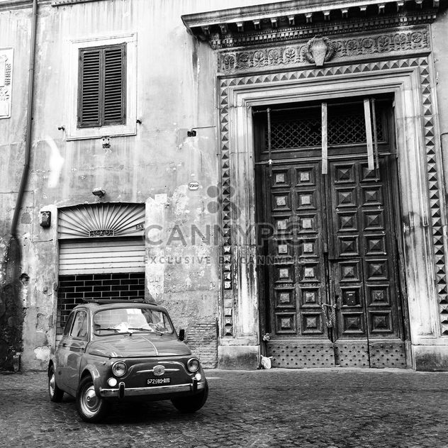 Old Fiat 500 car - Free image #331103