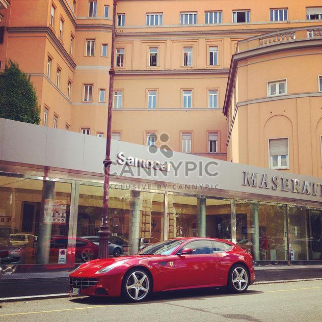 Rot-Ferrari-Auto - Kostenloses image #331133