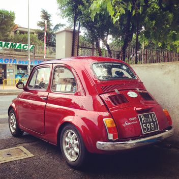 Old Fiat 500 car - Free image #331143