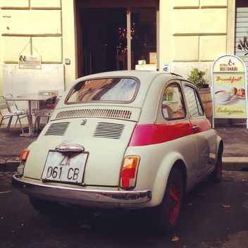 Old Fiat 500 car - image #331243 gratis