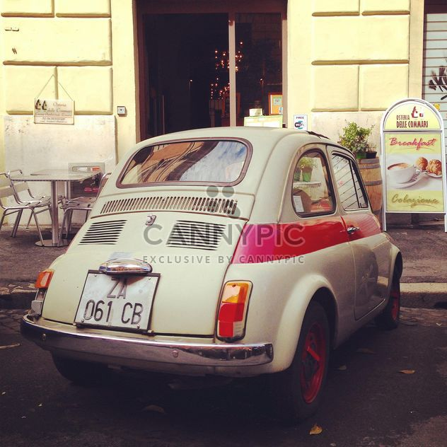 Old Fiat 500 car - Free image #331243