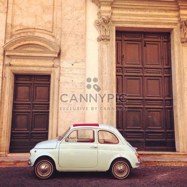Retro Fiat 500 car - image gratuit(e) #331263