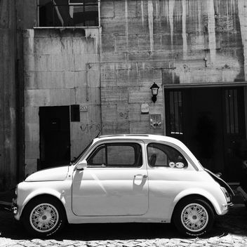 Old Fiat 500 Car - Free image #331273